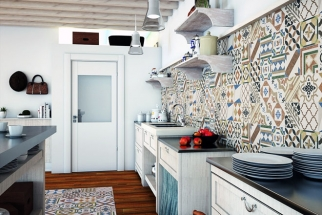 Vařte s Italem: Série obkladů Sicily potěší autentickým dekorem inspirovaným tradicemi Středomoří. Nadčasové motivy vnesou do interiéru živost. Stačí malá plocha, největší efekt přinese kombinace s dalšími barvami a materiály, kterou tento design bohatě umožňuje. Obklady se vyrábějí ve formátu 31 x 61cm ve 2 barvách, dlažba ve formátu 45 x 45cm. Nabízí síť prodejen Koupelny Ptáček, více informací také na www.jika.cz