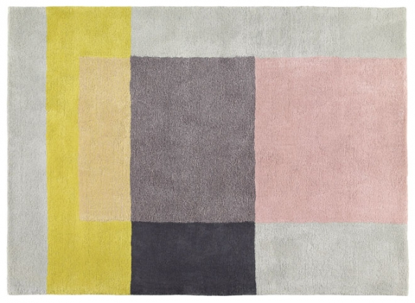 2. Geometricky pojaté koberce Colour navrhlo studio Scholten & Baijings pro společnost Hay, 100% novozélandská vlna, 170 x 240cm, www.designville.cz