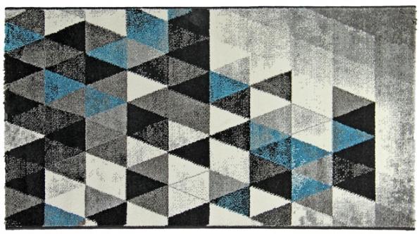 6. Koberec Hawai 1470/blue, 100% polypropylen frizé, výška vlasu 12,5 mm, rozměr od 80 x 150 cm, www.breno.cz