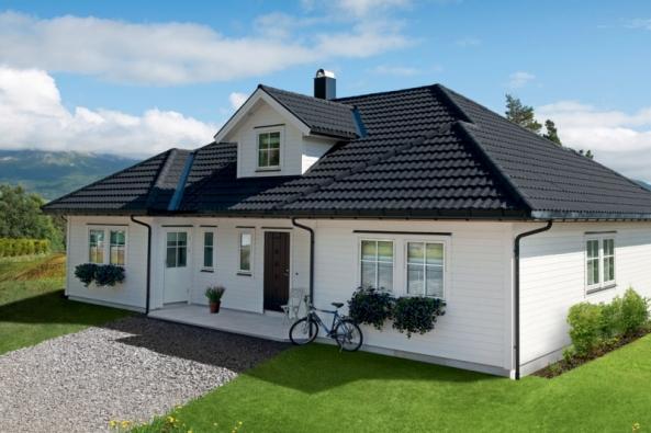 Realizace střechy - Decra Classic (Zdroj: Decra.cz)