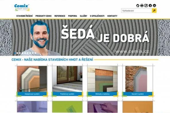 Společnost LB Cemix zahajuje novou stavební sezónu výraznou změnou vizuální podoby a zdokonalením servisu pro své zákazníky, ale také zbrusu novým webem, který sleduje oba tyto cíle.
