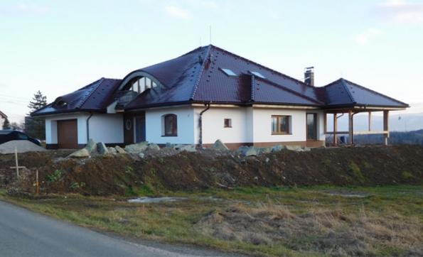 Rodinné domy a obytné stavby: 1. místo – rodinný dům v Horních Bludovicích