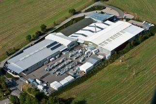 Energeticky účinným konceptem vytápění, chlazení, větrání a ohřevu vody disponují např. výrobní a administrativní prostory společnosti DAFE-PLAST v Polné u Jihlavy. (Zdroj: DZ Dražice)