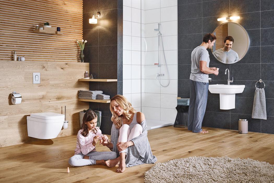 Čtyři styly pro současnou koupelnu