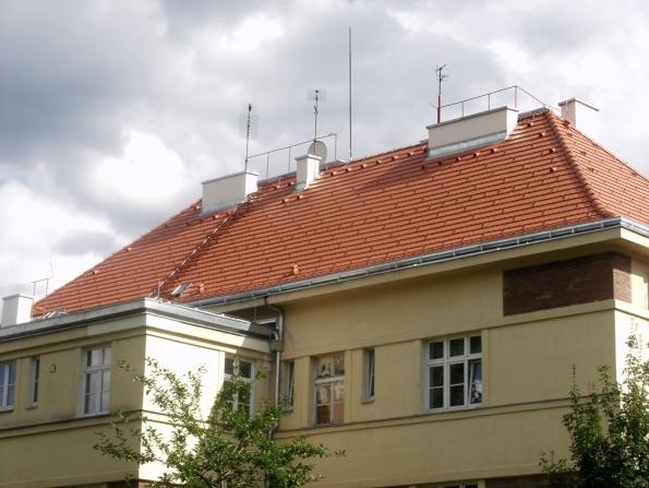 Střešní krytina Rundo Cihlová (Zdroj: Terran.cz)