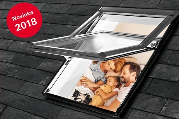 TIP: Nová dimenze pro výsuvně-kyvné střešní okno Designo R7