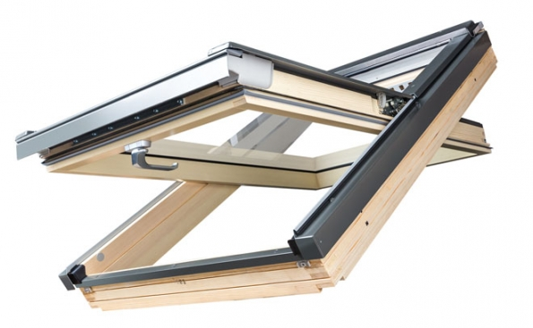 Střešní okno kyvné FTP-V (Zdroj: FAKRO)