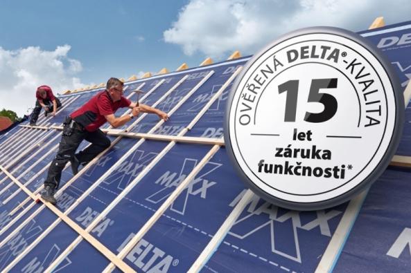 15 let záruka na fólie DELTA®-PREMIUM (Zdroj: DÖRKEN)