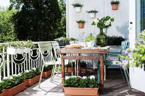 HORNBACH: Jak si udělat zahradu na balkoně