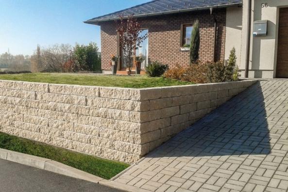 Zídky a schody DUO STONE – ideální řešení pro Vaši zahradu (Zdroj: Presbeton.cz)