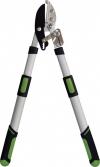 2. Nůžky na větve: Teleskopické kovadlinkové nůžky na větve FOR-Q mají čepel vyrobenou z kalené uhlíkové oceli, maximální řezný výkon 45 mm a jejich rukojeti se vysunou do délky až 110 cm. Výrobce: FOR-Q, cena: 899Kč, www.hornbach.cz