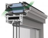 Invisiment® je tepelně izolovaná, samoregulační okenní ventilační mřížka s vysokým zvukovým útlumem, která se umísťuje nad rám okna dřevěného, hliníkového nebo plastového. Díky samoregulační klapce mřížka zajišťuje přívod čerstvého a zdravého vzduchu bez nepříjemného průvanu.