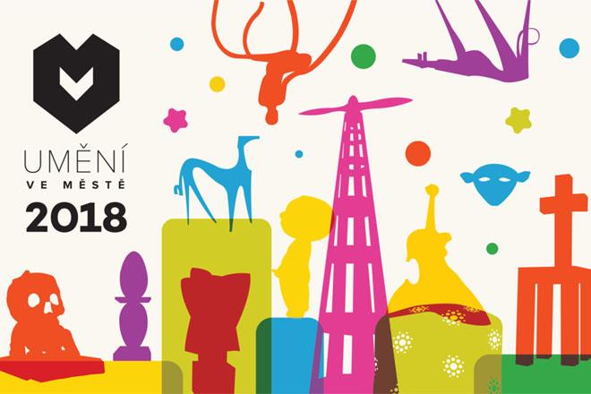 Umění ve městě 2018 se rozprostře do kraje