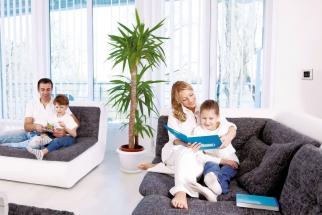 Uvnitř budov trávíme v průměru 85 procent svého času! Z toho 75 procent ve svých vlastních domovech! Proto musí patřit kvalitě vnitřního prostředí každého domu i bytu odpovídající péče. Proto musí být náš vlastní domov maximálně zdravým místem. (Zdroj: BEAM.cz)