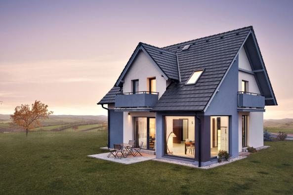 Při pohledu zvenčí dům Romance upoutá pozornost půvabnými nadčasovými tvary, které budou harmonicky rezonovat přírodním prostředím i městskou zástavbou.