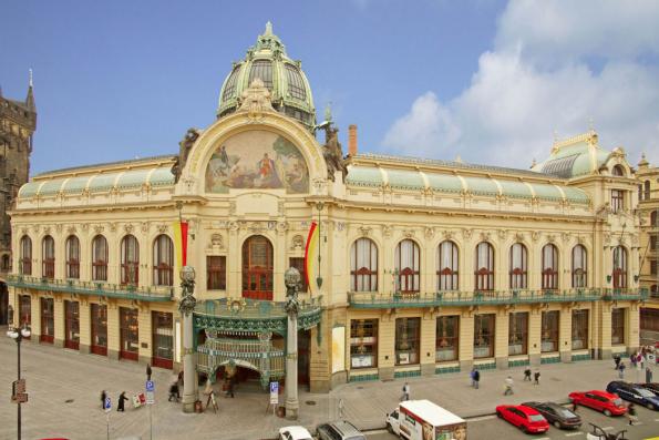 Obecní dům v Praze (Zdroj: RAKO)