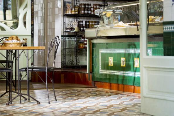 Cukrárna Au Gourmand v Praze (Zdroj: RAKO)