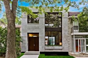 První dům se zelenou certifikací v kanadském Québecu (Zdroj: Gervais Fortin, Ecologia Foundation; Foto: Alexandre Parent)