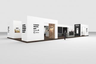 Luxusní dřevěné podlahy Kährs či ekologický program zdravých krytin WINEO PURLINE bude KPP prezentovat na společném stánku spolu s dalšími významnými interiérovými firmami a designovými značkami
