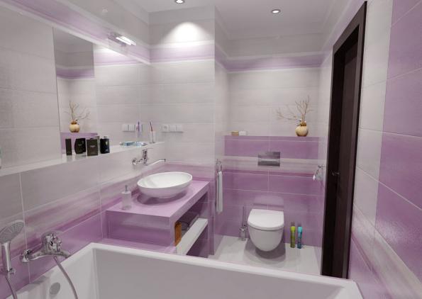 Velká koupelnová zrcadla, zrcadlové skříňky a chytře umístěné světelné zdroje koupelnu opticky zvětší