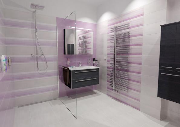 Trendem současných koupelen jsou bezbariérové sprchy