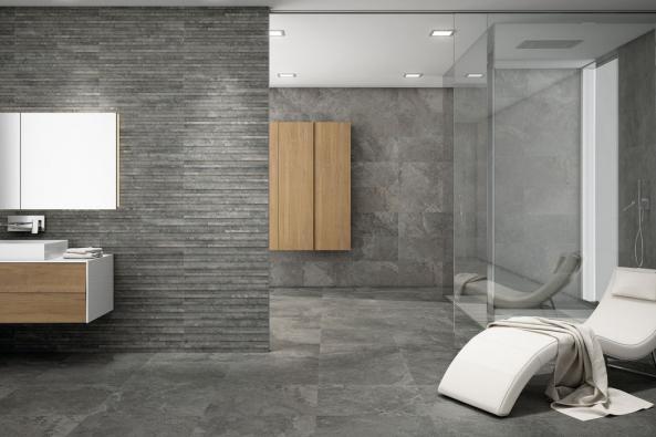Moderní koupelny mohou současně sloužit jako relaxační místnosti