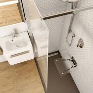 Sedátko do sprchy ocení zejména lidé s pohybovými potížemi