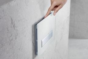 Základním prvkem systému Geberit DuoFresh je ovládací tlačítko splachování Sigma40, které je dostupné vpěti barevných variantách s povrchem ze skla v bílé, hnědé a černé barvě, nebo zplastu vodstínech alpská bílá a černá.