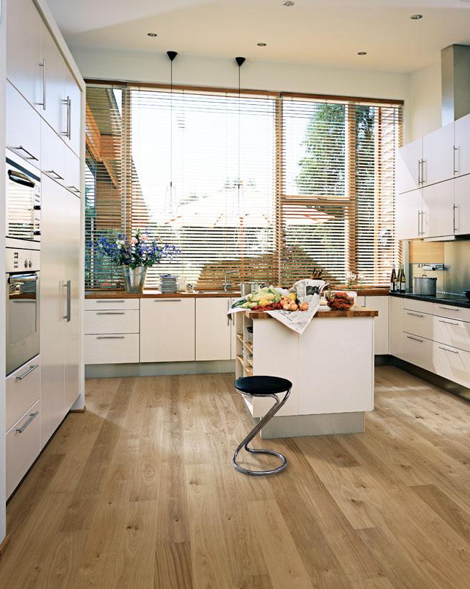 Dřevěná podlaha Kährs, kolekce Lux, dekor Dub Sun (Zroj: KPP)