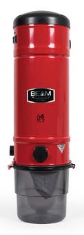 Centrální vysavač BEAM Platinum SC 385 RED nabízí velké množství inovací, které většina centrálních vysavačů prodávaných na českém trhu nemá. Jde především o filtrační technologie inverted system – velkoplošné, vertikálně pohyblivé samočisticí filtry GORE s filtrační schopností 98 % při velikosti částic 0,3 mikronu! Dále o regulaci výkonu, antivibrační závěs, takzvaný softstart a řadu dalších užitečných funkcí. (Zdroj: BEAM)