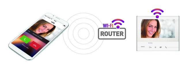 Videotelefon Classe 300 WI-FI umožňuje otevírat dům nebo byt pomocí jednoduché aplikace v chytrém telefonu odkudkoli. Dokáže také vzdáleně otevírat vjezdové brány, zapnout zavlažování nebo mít pod kontrolou interiérové a exteriérové kamery.