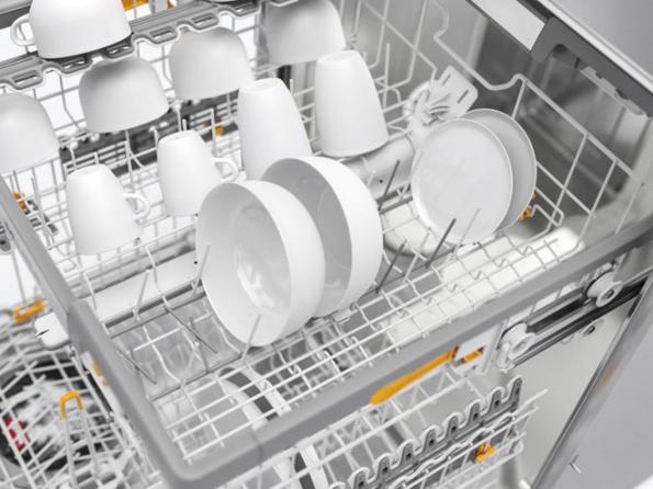 Na veletrhu spotřební elektroniky a domácích spotřebičů IFA 2018 představila společnost Miele novinky z oblasti péče o prádlo, myček, kávovarů nebo přípravy pokrmů. Rozsáhlá expozice opět potvrdila pozici Miele jako skutečného inovátora v oblasti technologií domácích spotřebičů a inteligentní domácnosti. (Zdroj: Miele)