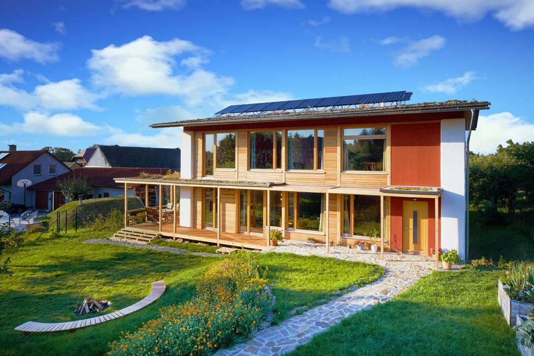 V soutěži o nejlepší ekologický projekt roku zvitězil dům ze slámy