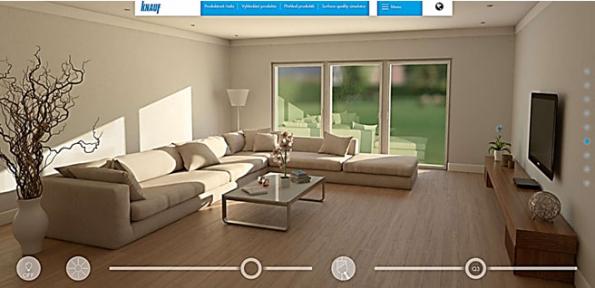 Knauf na stránkách www.knaufperfectsurfaces.com nabízí ukázku toho, jak jednotlivé kvality povrchů Q1 – Q4 vypadají v různém světle – ať už během dne, kdy se do stěny opře ostré slunce, nebo večer, při rozsvícení umělého osvětlení. Najdete v ní také praktické rady a ukázky, jak materiály vybírat a jak s nimi pracovat. Aplikaci PERFECT SURFACES si můžete stáhnout i na Google Play nebo App Store.