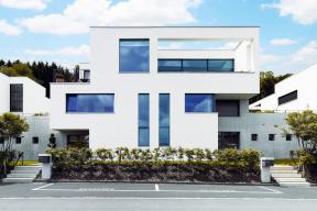 Fasáda rodinného domu s fasádním systémem StoTherm Classic