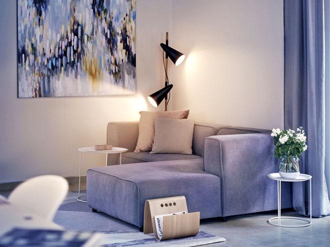 Interiér domu, stejně jako jeho exteriér nabízí volbu nejrůznějších stylů. Atmosféru domu můžete zcela přizpůsobit svému vkusu a svým potřebám.  (Zdroj: CANABA)