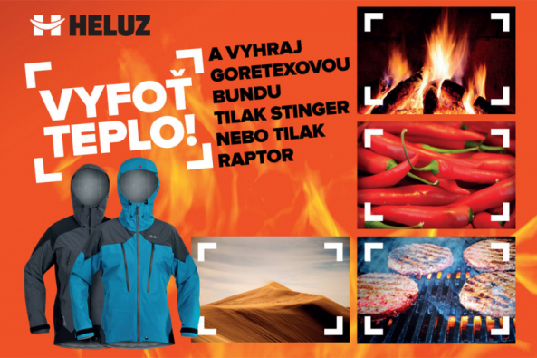 """Vstupenkou do soutěže společnosti HELUZ """"Vyfoť teplo"""" o goretexovou bundu a další zimní oblečení značky Tilak je fotografie zachycující moment evokující teplo."""