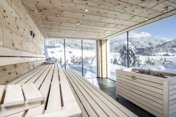 Sauna spanoramatickým výhledem dokrajiny si vničem nezadá spravou finskou