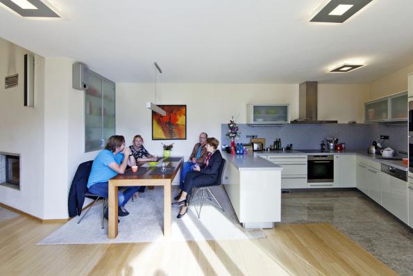 Majitelé domu jsou s Alešem Gadlinou dlouholetí přátelé. Pro architekta to je nejlepší vizitka.