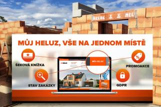 Zákazníci společnosti HELUZ mohou na webu www.heluz.cz/cs/muj-heluz non stop sledovat vyřizování své objednávky (Zdroj: HELUZ)