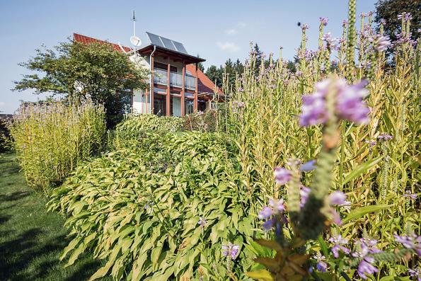 Zahrada musí sloužit potřebám majitelů ataké souznít sarchitekturou domu.