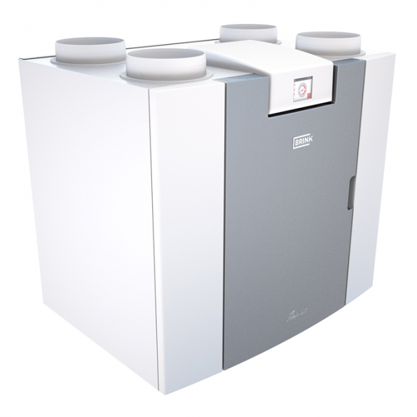 Větrací jednotka Brink Flair 325 je tišší a spotřebovává méně energie než podobné výrobky na trhu. Měření ukazují, že spotřeba energie je o více než 10 % nižší než spotřeba současných nejúčinnějších jednotek na trhu (Zdroj: Štorc)