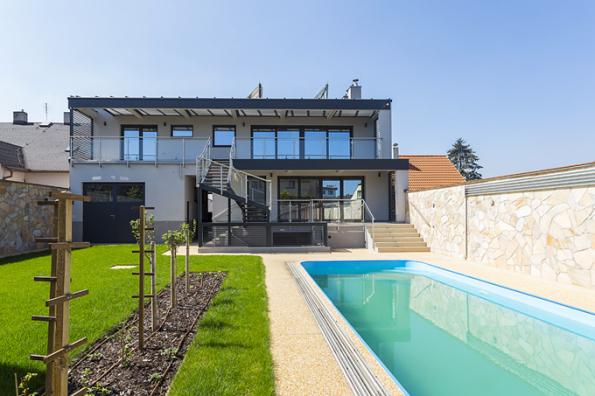 HLASOVÁNÍ ČTENÁŘŮ  Domy nad 150 m2   2. místo získal dům postavený podle návrhu Ing.arch. Anety Stružkové (sout. kód N24)
