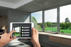 Inteligentní jednotky Schüco: Výrobce dostává digitální informace o cyklech údržby, potřebných náhradních dílech, dokumentech a certifikátech. (Zdroj: Schüco)