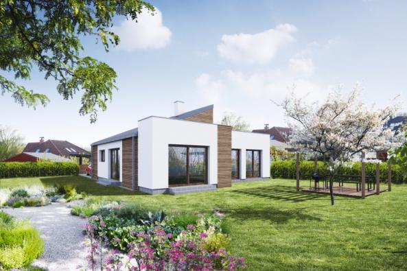 Typový dům Stella zkatalogu Architektonické kanceláře Křivka
