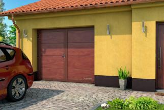 Životnost garážových vrat se obvykle počítá na desítky let. Co dělat, když jsou dny těch vašich sečteny? (Zdroj: Lomax)