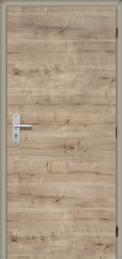 Dveře Masonite CPL laminát deluxe, dekor dub přírodní horizontální (Zdroj: Masonite)