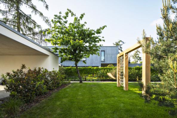 Hlavní pobytový prostor spůvodní třešní anezbytnými borovicemi