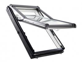 Výsuvně-kyvné střešní okno Designo R7 (Zdroj: Roto)