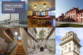 Již popáté se v Praze uskuteční víkendový festival Open House Praha, během kterého se otevřou brány 80 běžně nepřístupných budov a prostorů. O víkendu 18. a 19. května 2019 si lidé mohou zdarma prohlédnout architektonicky cenné prostory historických paláců a reprezentativních vil, pokochat se moderními designovými kancelářskými prostory nebo si užít nezapomenutelné výhledy na město ze střech výškových budov.